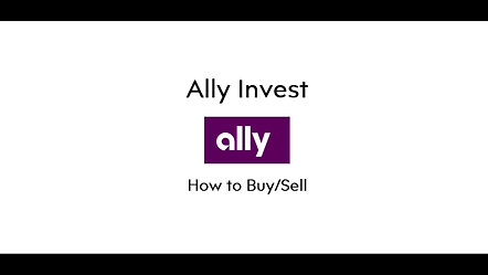 Ally Invest Trading