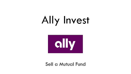 Ally Sell Mutual Fund