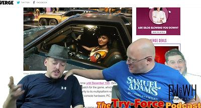 #170 Try Force Podcast Fridgizzle My Dizzle Wakanda Sandwich You Want Promo