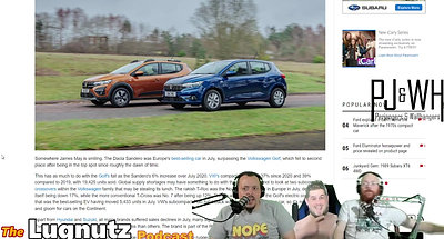 #249 Lugnutz Podcast: Romanian Hatchback Skoda Vampire Promo