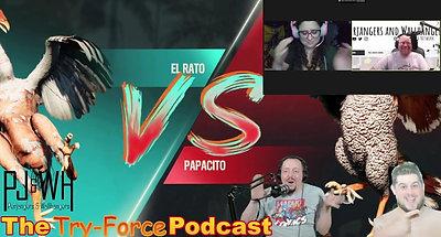 #260 Try-Force Podcast:  Mortal Cockbat Holodeck Breaker Promo