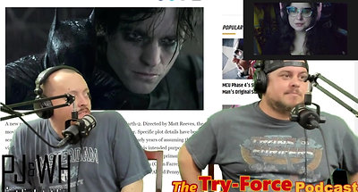 #211 Try-Force Podcast: Superhero Daddy Issues DeathStroke Sitcom Promo