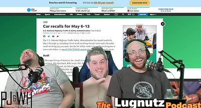 #221 Lugnutz Podcast: Controversial Truck Sideburns Bizarre Placed Nostrils Promo