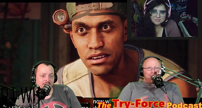 #226 Try Force Podcast: That's My Mighty Down Finger Promo