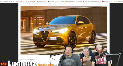 #261 Lugnutz Podcast: Whore of Diesel Horses Cadillac Golf Cart Promo