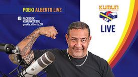 Poekie Alberto was live; 12 oct 2020