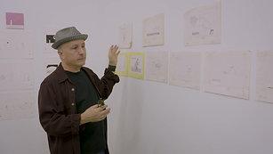 Barney Saltzberg Art Show