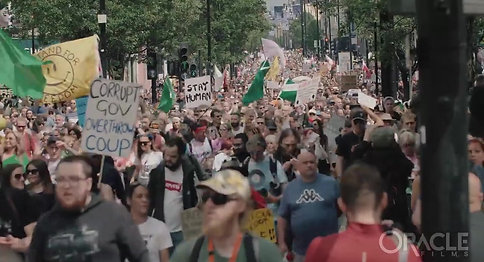 インチキコロナ100 万人デモ 潮目が変わった月  ロンドン 2021 年 5 月