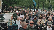 インチキ新型コロナ100 万人デモ 潮目が変わった月  ロンドン 2021 年 5 月