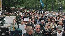 インチキ新コロ100 万人デモ 潮目が変わった月  ロンドン 2021 年 5 月