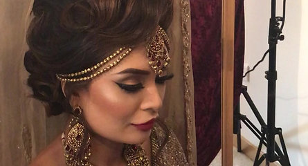 Asian Bridal Makep Raw video