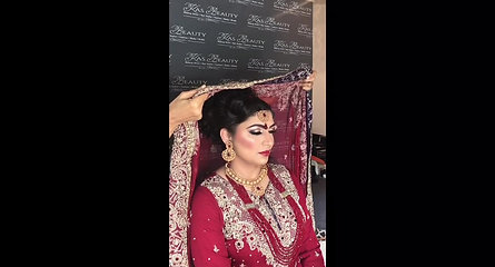Asian Bridal Makeup Raw video