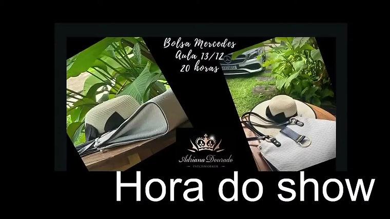Como fazer Bolsa Mercedes  _ Pap _ Adriana Dourado