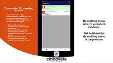 E-Learning video Assist App oproep Accepteren