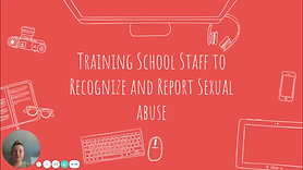 Training School Staff to Recognize and Report Sexual Abuse