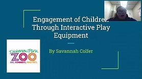 Engagement of Children Through Interactive Play Equipment