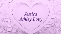 Jessica Bat Mitzvah Photo Montage