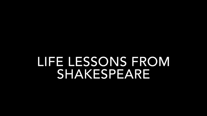 Life Lessons From Shakespeare