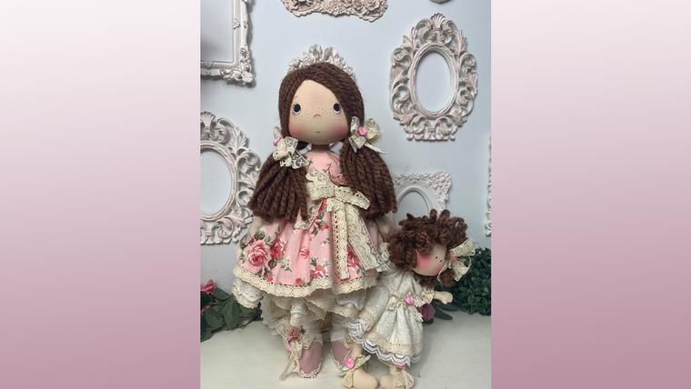 Boneca Carol e sua Filha