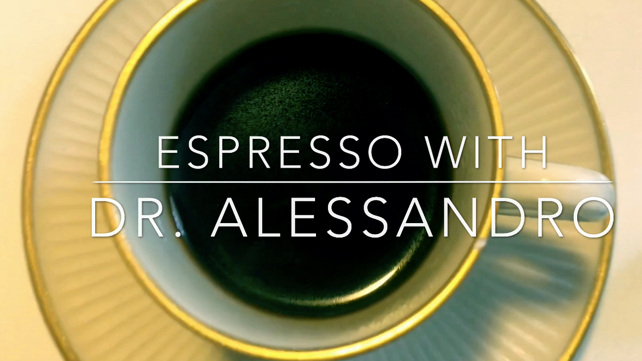Introduction to Espresso with Dr Alessandro