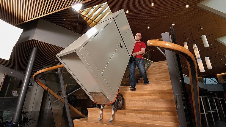 Monte escaliers électriques
