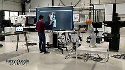Visual realtime robot programming