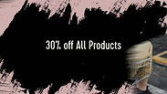 30% off All Products