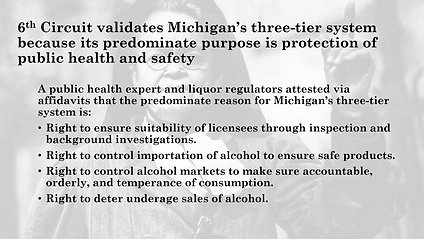 How the Three Tier System and Court Cases Impact Public Health and Safety in Michigan
