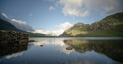 The Beautiful Llyn Ogwen in the Snowdonia National Park