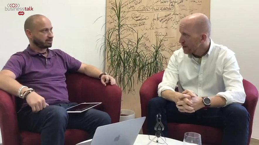Rozhovor v Business Talk