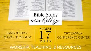 Bible Study Workshop