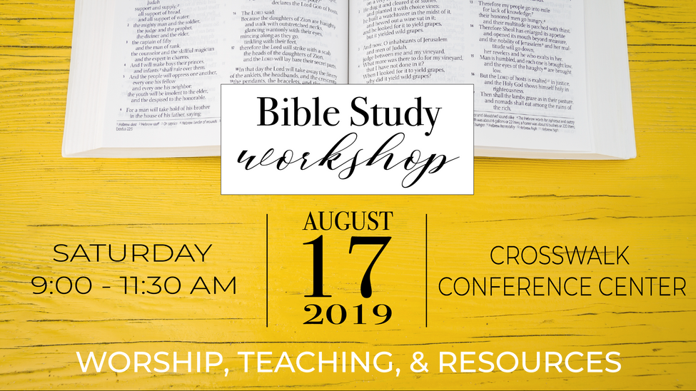 Bible Study Workshop