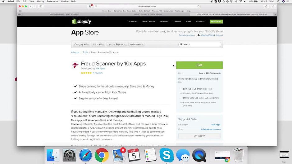 Fraud Scanner App