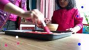Children learn skills by doing