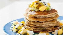 Tropical Vegan Pancakes