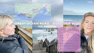 Great Ocean Road Trip - VLOG