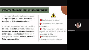 Gestao de cuidados e atenção à mulher na pós menopausa - 15-06-2021 - pré internato