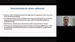 Rastreamento do câncer colorretal
