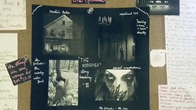 """""""The Nobodies"""" story-board"""