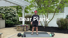 Bear Plank