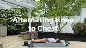 Alternating Knee to Chest