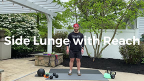 Side Lunge with Reach