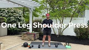 One Leg Shoulder Press