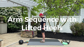 Arm Sequence with Lifted Heels