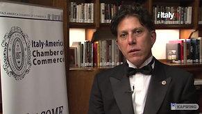 PrimiDieci Awards, New York - presented by Founder and President, Riccardo Lo Faro