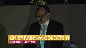 JTI Grand Opening - Chief Rabbi Goldstein