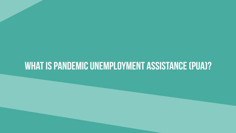 Pandemic Unemployment Assistance FAQ Video Series
