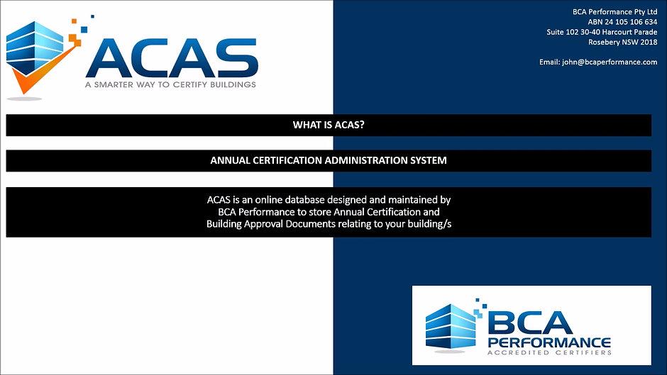 BCA Performance