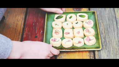 Creative video - Mint Sakura Biscuits