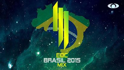 Skrillex EDC Brasil 2015 Mix